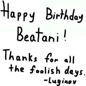 Rating: Safe / Score: 0 / Tags: 25thbirthdaymessages / User: YukkinLover